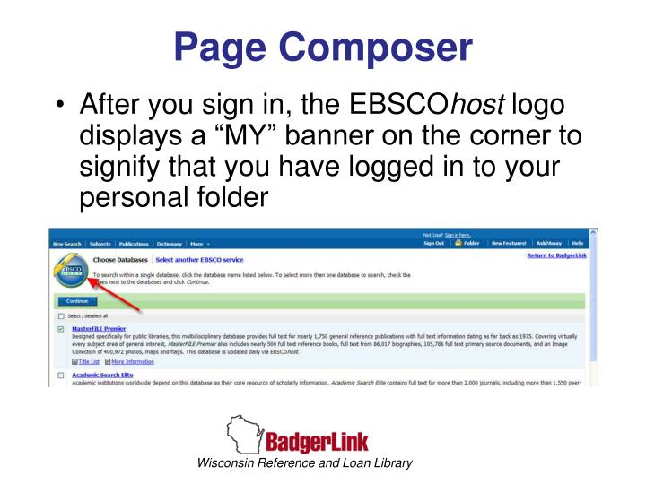 Page Composer