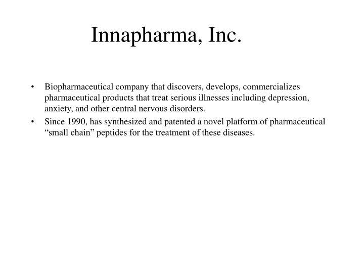 Innapharma, Inc.