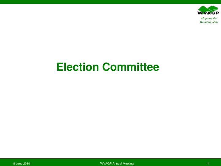 Election Committee