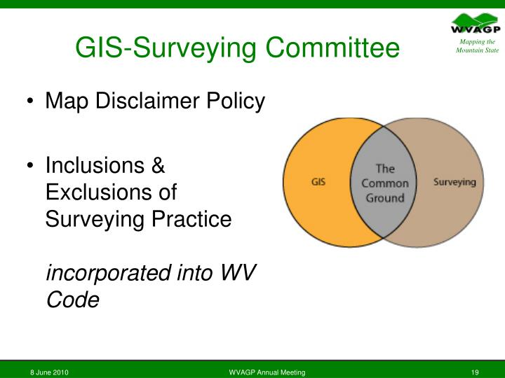 GIS-Surveying Committee