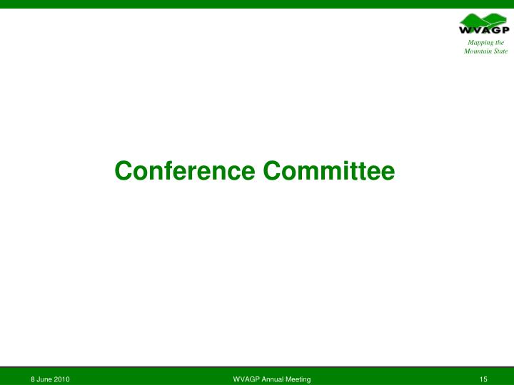 Conference Committee