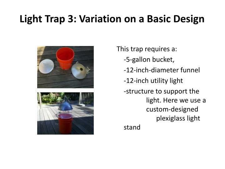 Light Trap 3: Variation on a Basic Design