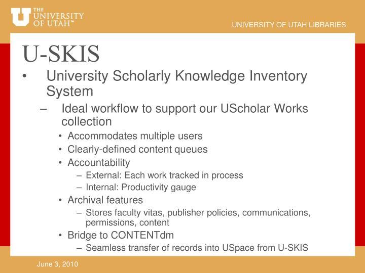 U-SKIS