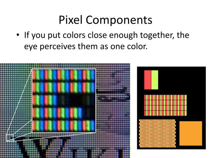 Pixel Components