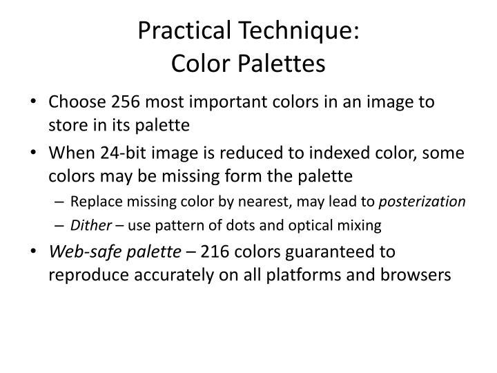 Practical Technique: