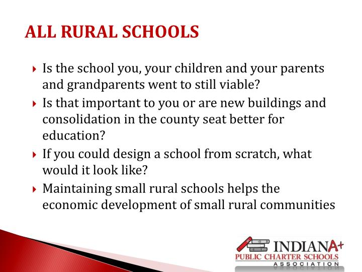 Is the school you, your children and your parents and grandparents went to still viable?