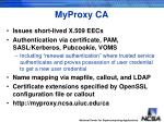 myproxy ca