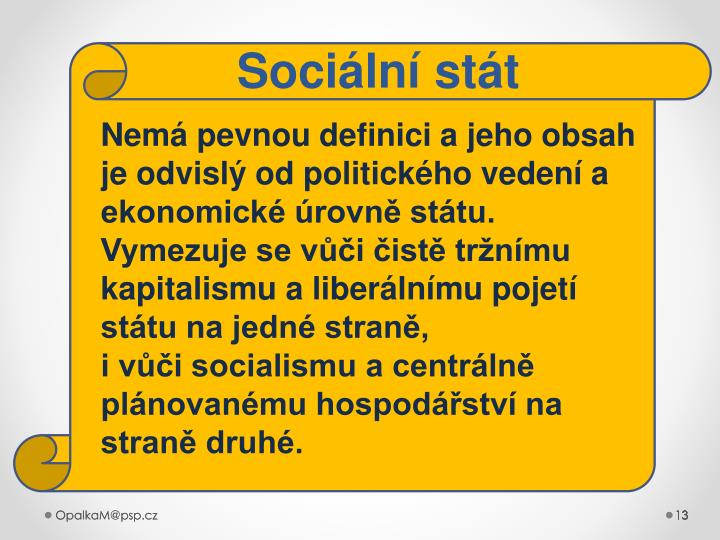 Sociální stát