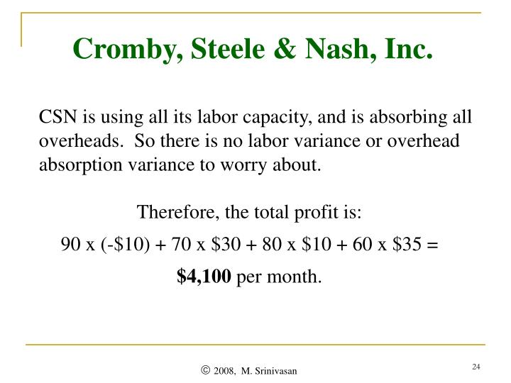 Cromby, Steele & Nash, Inc.