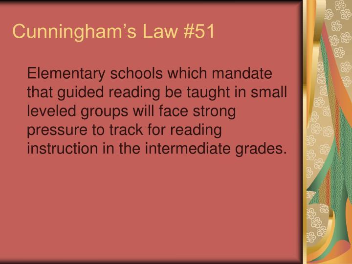 Cunningham's Law #51