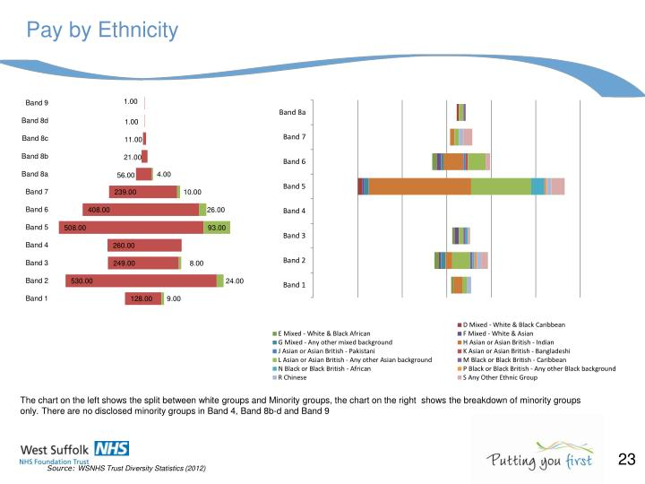 Pay by Ethnicity
