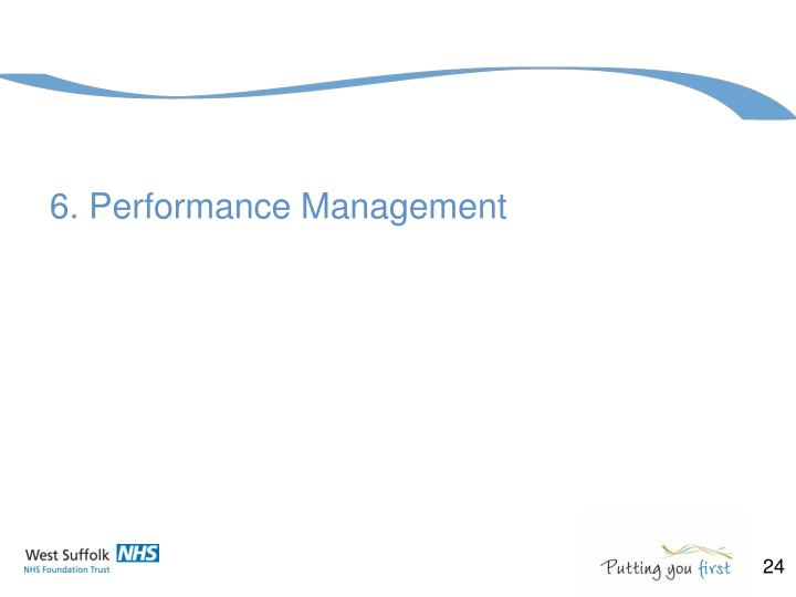 6. Performance Management