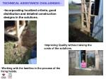 technical assistance challenges