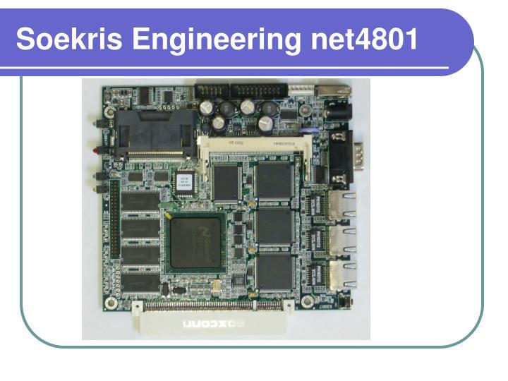 Soekris Engineering net4801