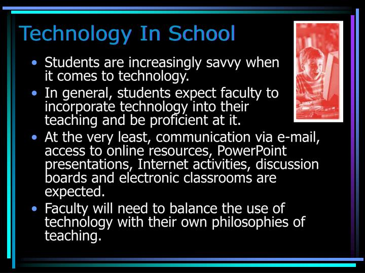 Technology In School