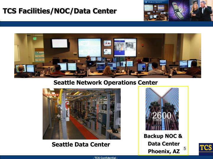 TCS Facilities/NOC/Data Center