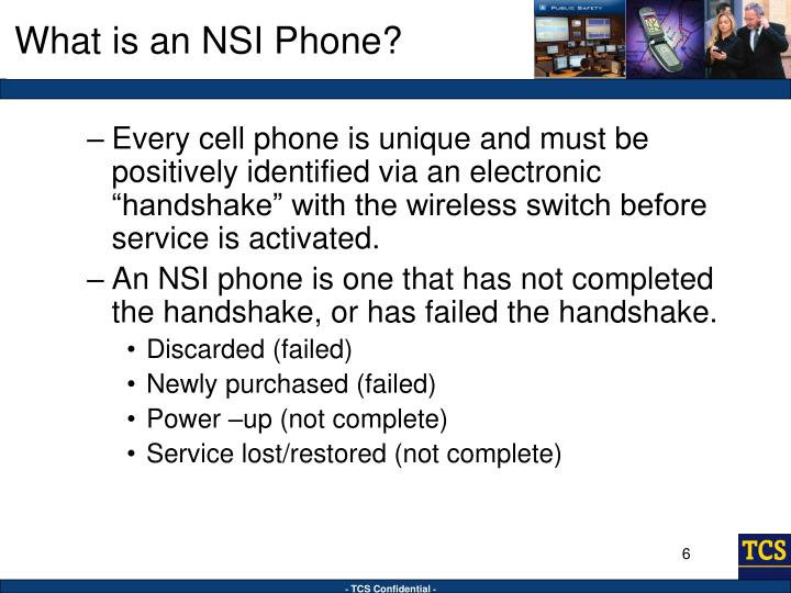 What is an NSI Phone?