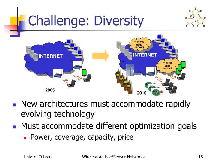 Challenge: Diversity