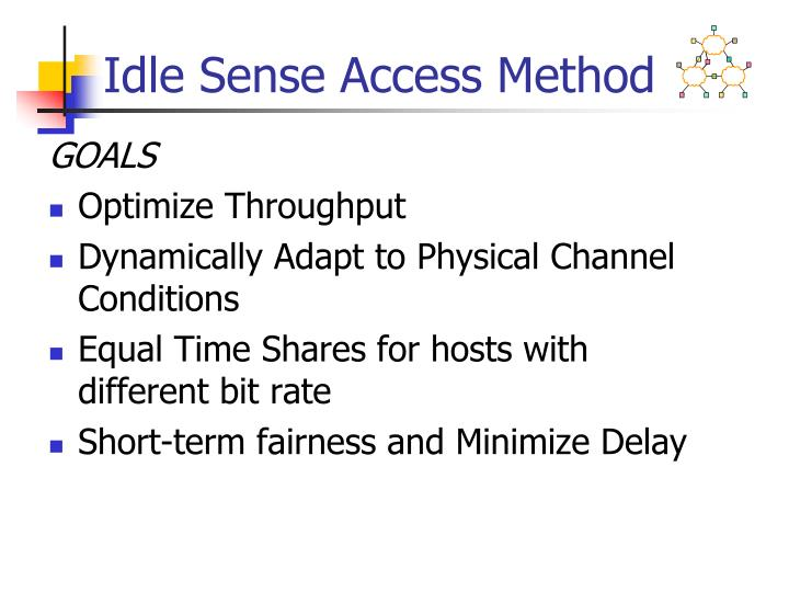Idle Sense Access Method