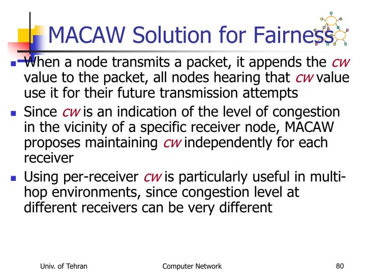 MACAW Solution for Fairness