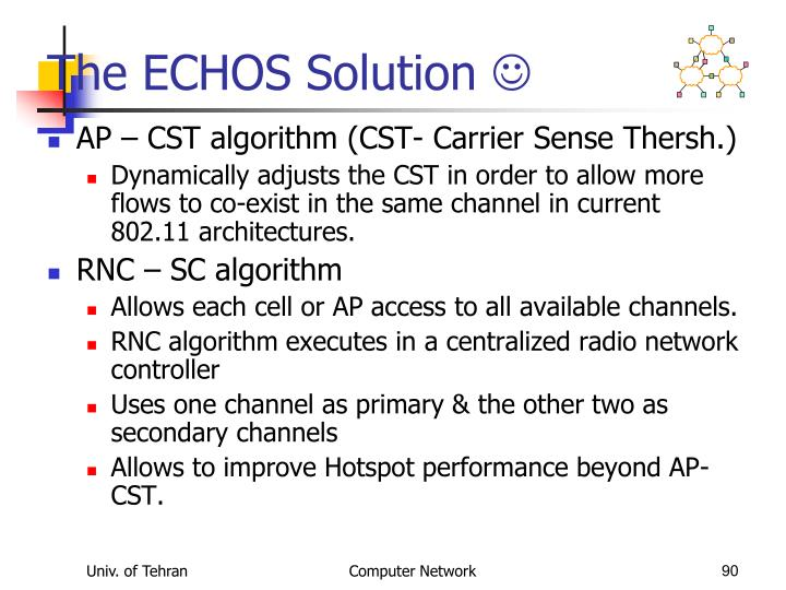 The ECHOS Solution