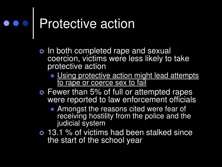 Protective action