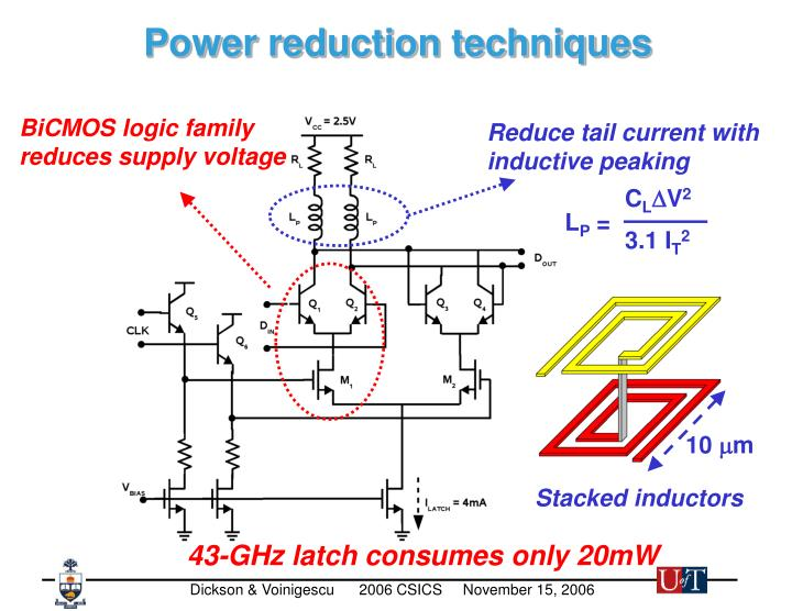 BiCMOS logic family reduces supply voltage