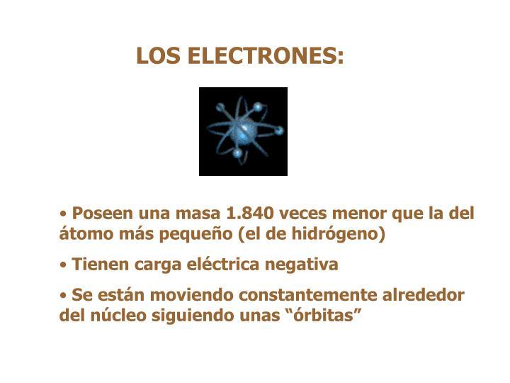LOS ELECTRONES: