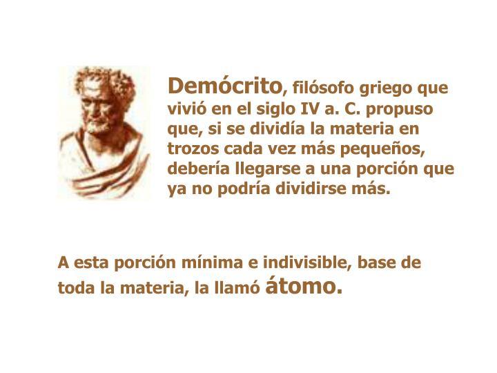Demócrito