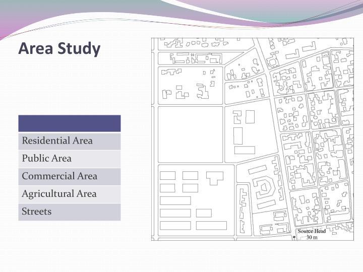 Area Study