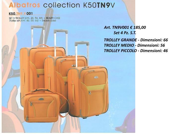 Art. TN9V001 € 185,00