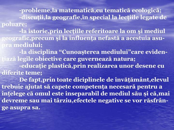 -probleme,la matematic
