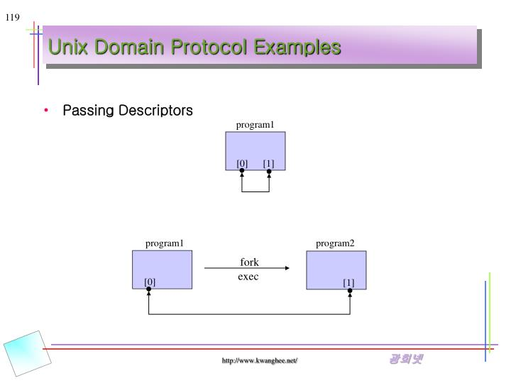 Unix Domain Protocol Examples