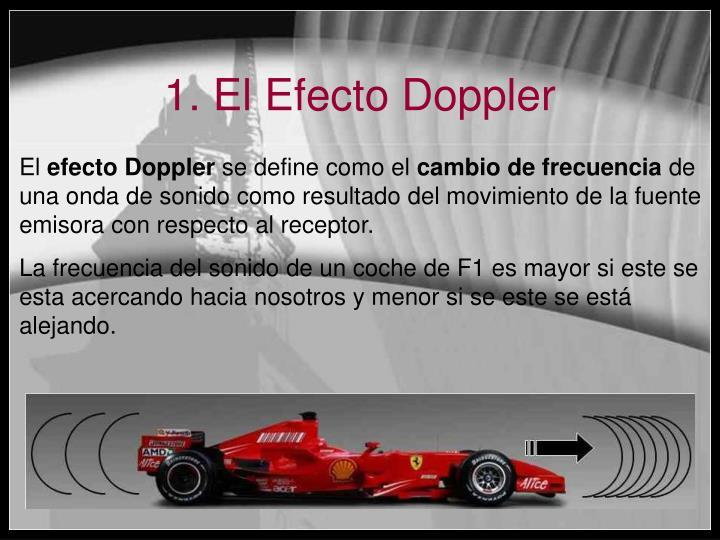 1. El Efecto Doppler