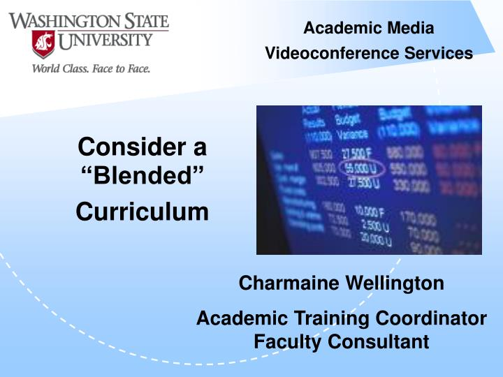 Academic media videoconference services