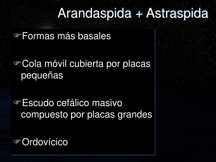 Arandaspida