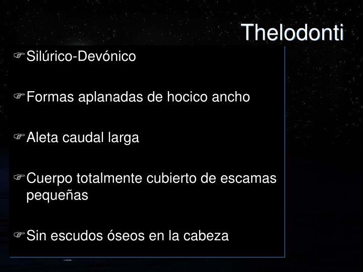 Thelodonti
