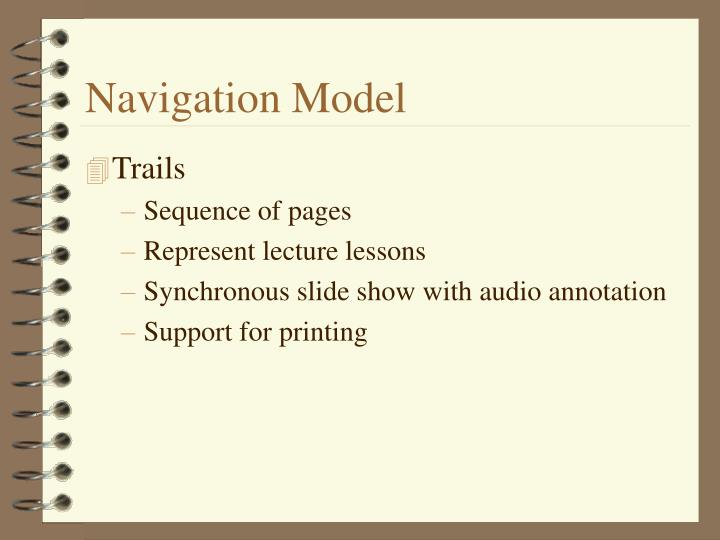 Navigation Model