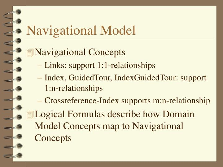 Navigational Model