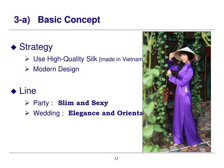 3-a)   Basic Concept