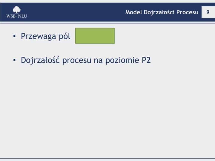 Model Dojrzałości Procesu