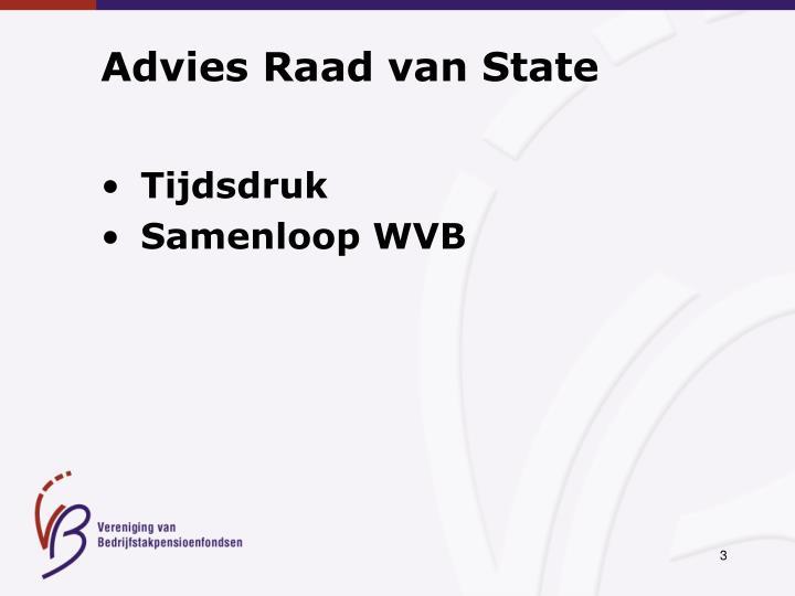 Advies Raad van State