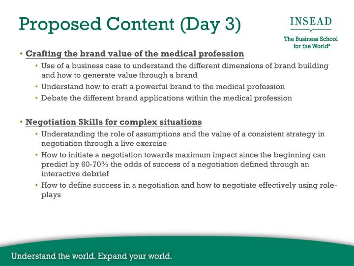 Crafting the brand value of the medical profession