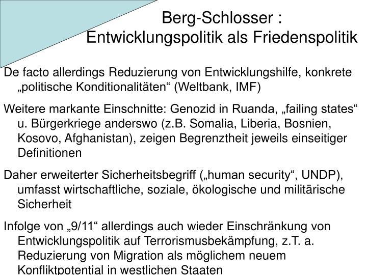 Berg-Schlosser :