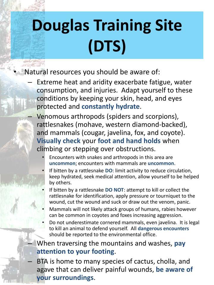 Douglas Training Site (DTS)