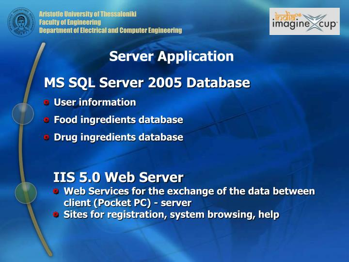 Server Application