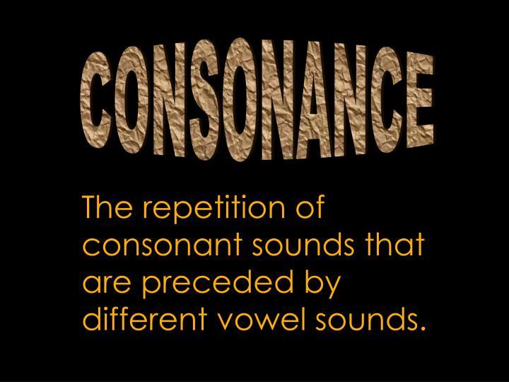 CONSONANCE