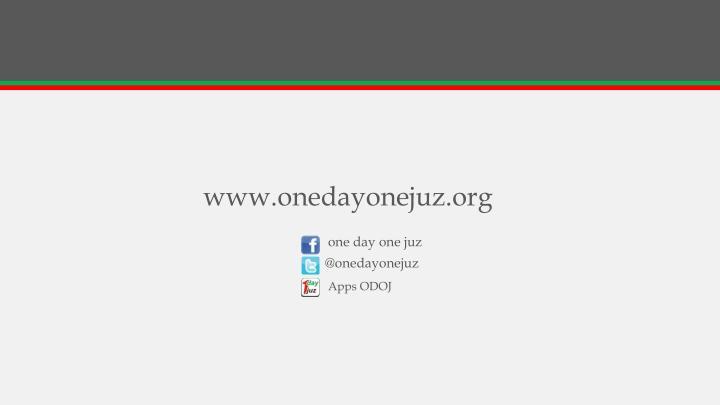 www.onedayonejuz.org
