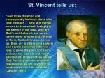 st vincent tells us