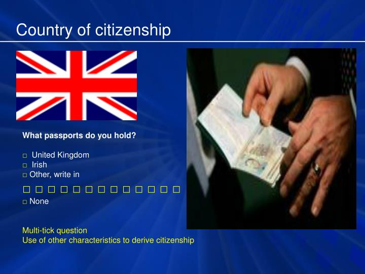 Country of citizenship